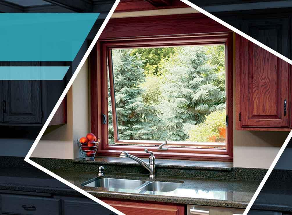 why are awning windows ideal for kitchens